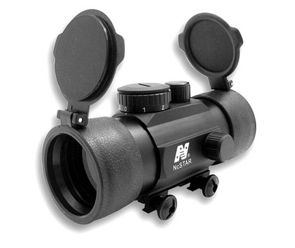 1x45 T-Style Red Dot Rifle Sight with Weaver Base