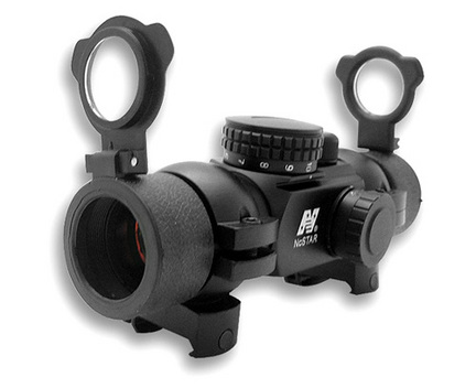 1x30 T-Style Red Dot Rifle Sight with 4 Different Reticals and Weaver Rings