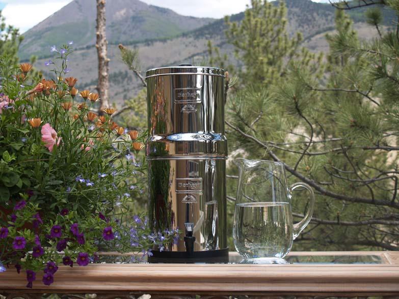 Big Berkey™ Sombreness Water Purifier System PLUS (with 2 Black Berkey Filters / 2 Fluoride Reduction Filters)