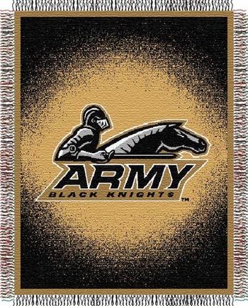 Army Black Knights Focus 48 x 60 Throw Blanket