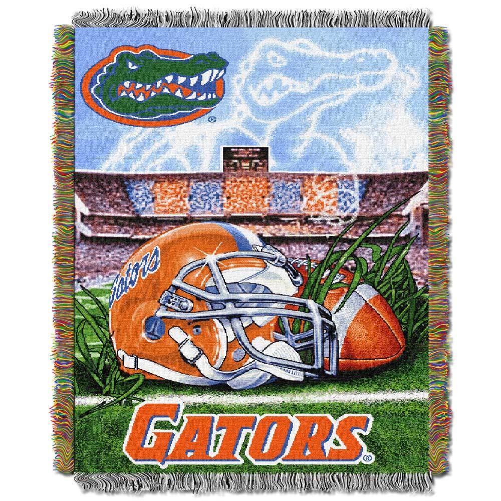 "Florida Gators ""Home Field Advantage"" 48"" x 60"" Throw Blanket"