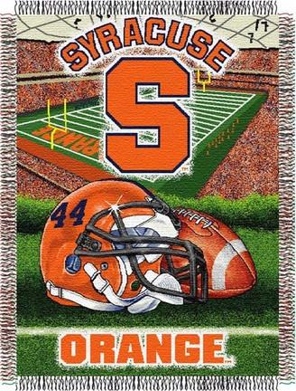 Syracuse Orangemen Home Field Advantage 48 x 60 Throw Blanket