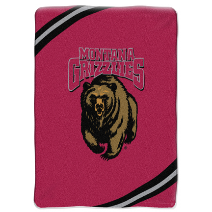 "Montana Grizzlies ""Force"" 60"" x 80"" Raschel Throw Blanket"