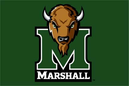 "Marshall Thundering Herd 20"" x 30"" Acrylic Tufted Rug"