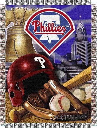 Philadelphia Phillies Home Field Advantage 48 x 60 Throw Blanket