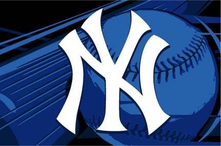 New York Yankees 39 x 59 Acrylic Tufted Rug