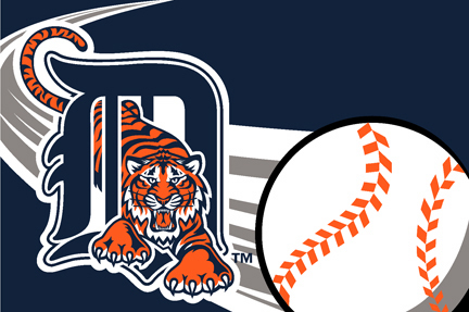 Detroit Tigers 20 x 30 Acrylic Tufted Rug