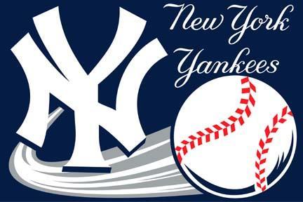 New York Yankees 20 x 30 Acrylic Tufted Rug