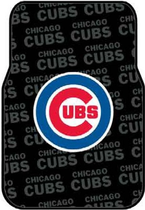 Click here for Chicago Cubs Rubber Car Floor Mats (Set of 2 Car M... prices
