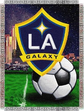 "Los Angeles Galaxy MLS 48"" x 60"" Throw Blanket"
