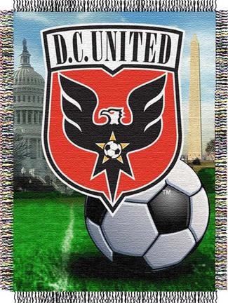 "D.C. United MLS 48"" x 60"" Throw Blanket"
