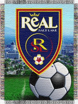 "Real Salt Lake MLS Licensed 48"" x 60"" Throw Blanket"