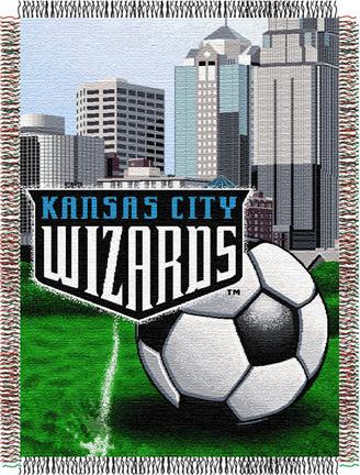 "Kansas City Wizards 48"" x 60"" Tapestry Throw Blanket"