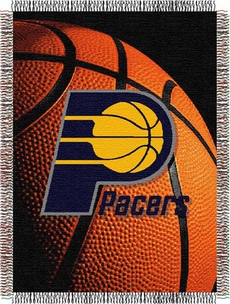 """Indiana Pacers """"Photo Real"""" 48"""" x 60"""" Tapestry Throw Blanket"""