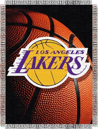 """Los Angeles Lakers """"Photo Real"""" 48"""" x 60"""" Tapestry Throw Blanket"""