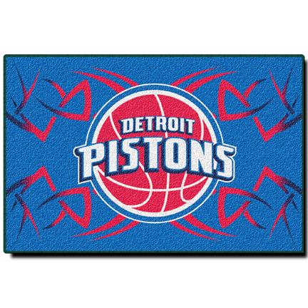 "Detroit Pistons 20"" x 30"" Rug"