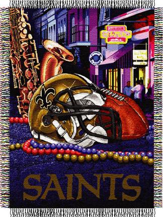 New Orleans Saints Blanket Saints Fleece Blanket