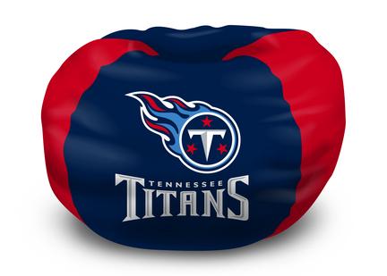 "Tennessee Titans NFL Licensed 96"" Bean Bag Chair"