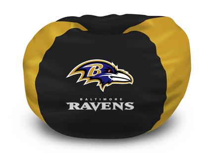 "Baltimore Ravens NFL Licensed 102"" Bean Bag Chair"