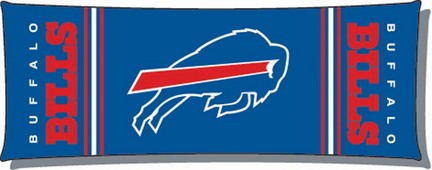 Official NFL Buffalo Bills 19 x 48 Body Pillow  by Northwest Company