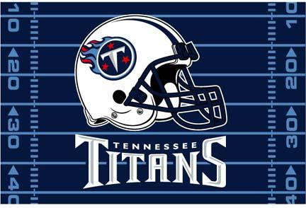 "Tennessee Titans 39"" x 59"" Acrylic Tufted Rug"