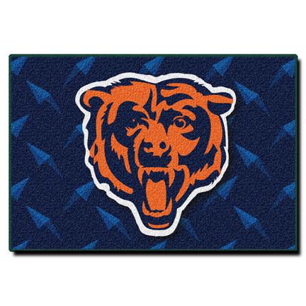 """Chicago Bears 20"""" x 30"""" Acrylic Tufted Rug"""