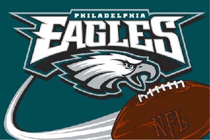 Philadelphia Eagles 20 x 30 Acrylic Tufted Rug
