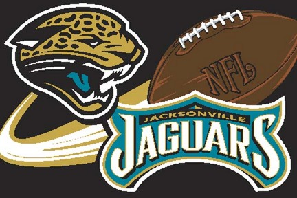 """Jacksonville Jaguars 20"""" x 30"""" Acrylic Tufted Rug"""