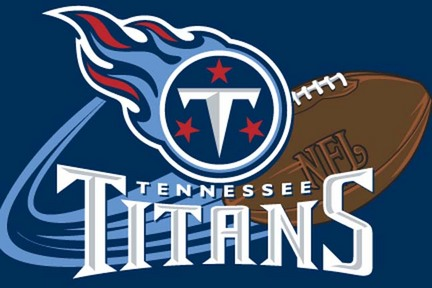"""Tennessee Titans 20"""" x 30"""" Acrylic Tufted Rug"""
