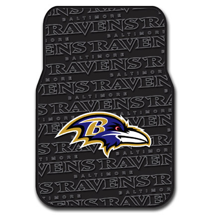 Click here for Baltimore Ravens Rubber Car Floor Mats (Set of 2 C... prices