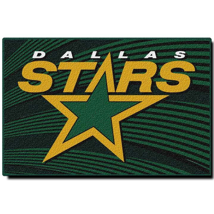 "Dallas Stars 20"" x 30"" Acrylic Tufted Rug"