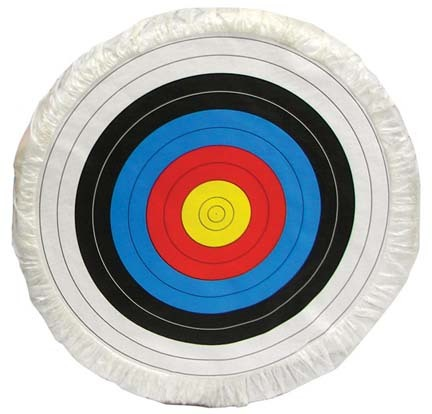 "36"" Replacement Skirted Archery Target Face (Set of 2) - For use with Foam Target thumbnail"