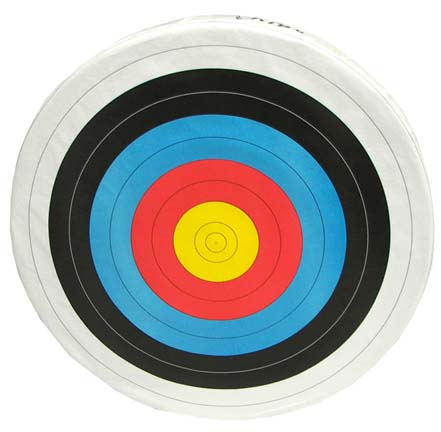 "48"" Replacement Skirted Archery Target Face (Set of 2) - For use with Foam Target thumbnail"