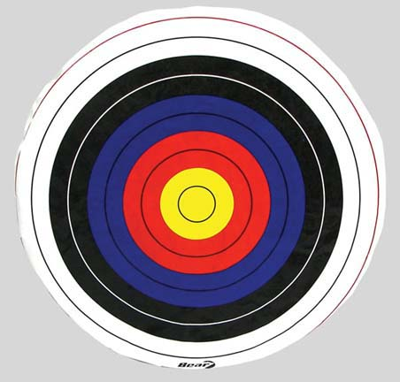 """Glasscloth® Square 48"""" Archery Target Face - No Skirt (Set of 2)"""