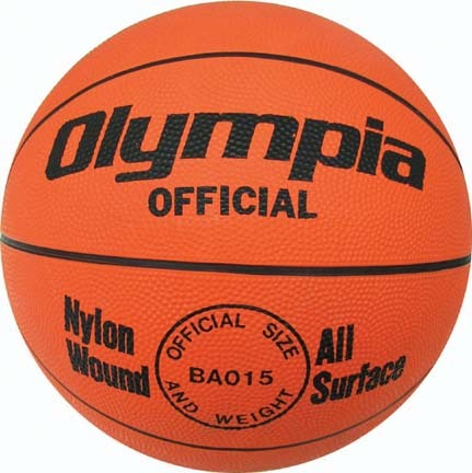 Click here for Men's Orange Rubber Basketball from Olympia (Set o... prices