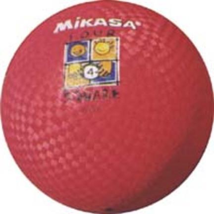 """Mikasa P600 6"""" Playground Balls - Set of 3"""
