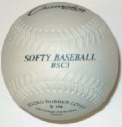 "9"" ""Softy"" Baseballs from Olympia Sports - Set of  25 Balls"