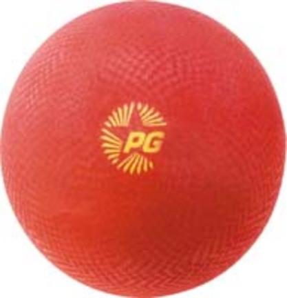"7"" Red Olympia Playground Balls - Set of 6"