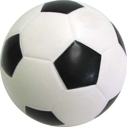 Poof Skinned Foam Soccer Ball from Olympia Sports (Set of 3)