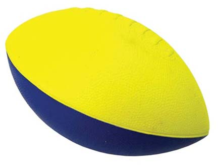 3/4 Size Poof Foam Football from Olympia Sports - Set Of 6