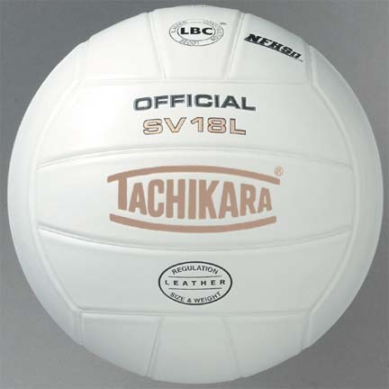 Tachikara Competition NFHS Indoor Full Grain Leather Volleyball