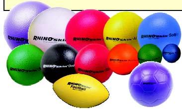 "5"""" Rhino Skin Foam Play Ball (Set of 3)"" OLY-BA330P-3"
