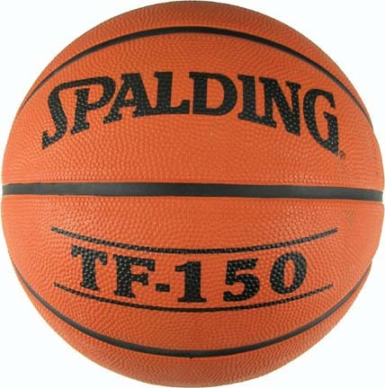 Women's Official Pro-Flite Rubber Basketball from Spalding (Set of 3)