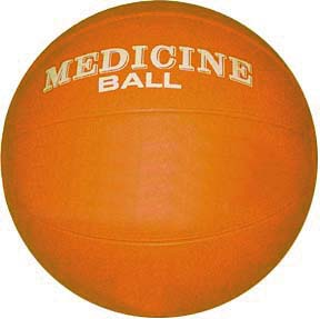 5 Kilo ( 11 - 12 lbs. ) Rubber Medicine Ball