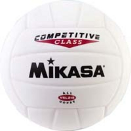 Mikasa VSL215 Competitive Class Volleyball (White)