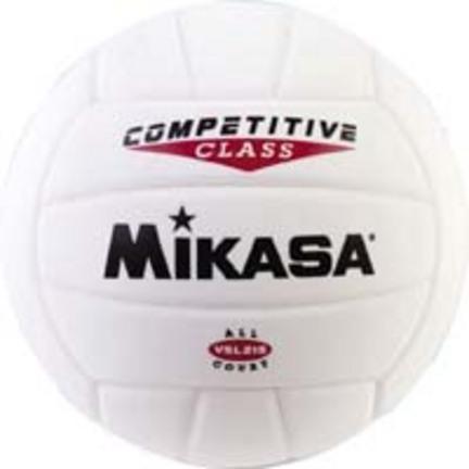 Mikasa VSL215 Competitive Class Volleyball (White)