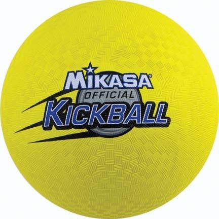 Soccer Kickball From Mikasa...Yellow (Set of 4)