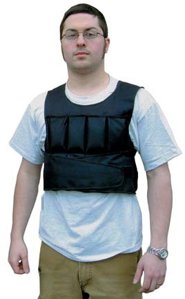 10 lb. Weighted Short Vest