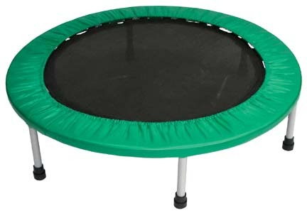 Circular Trampoline Exerciser without Hand Rail from Olympia Sports