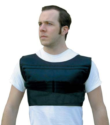 No Bounce Weighted Shoulder Pad Vest